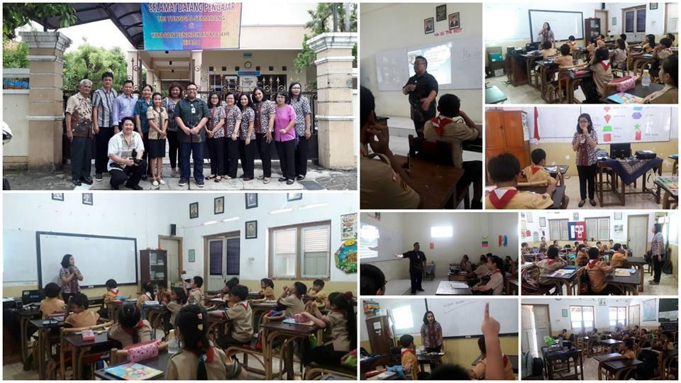 Berbagi di Sekolah Kristen Masehi Jepara