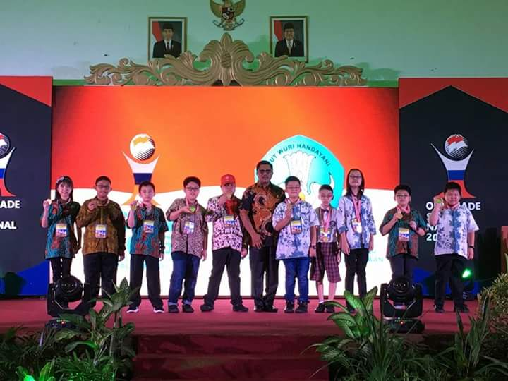 Juara OSN di Palembang