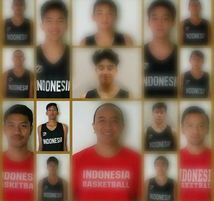 Terpilih kedalam Tim Nasional U16 Putra di SEABA U16 Championship for Men