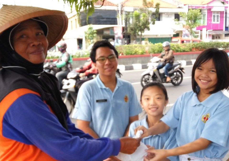 The 1st Semarang Company of Boys' Brigade Community Service