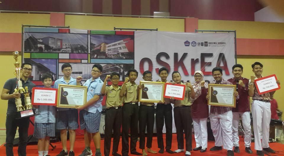 SMP Kristen Tritunggal Meraih Juara Umum dalam OSKREA