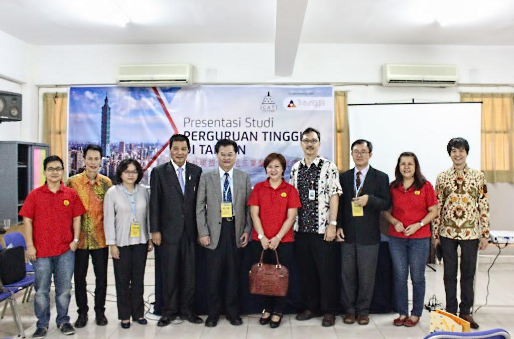 Presentasi Studi Perguruan Tinggi di Taiwan