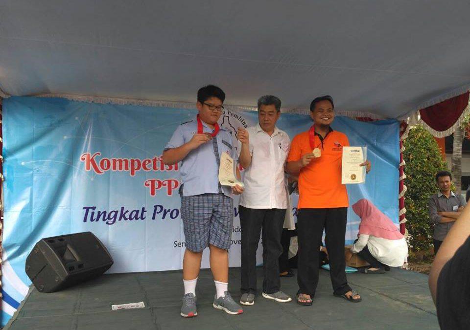 Gold dan Bronze Medal dalam Kompetisi Matematika Terbuka PPO tingkat Provinsi