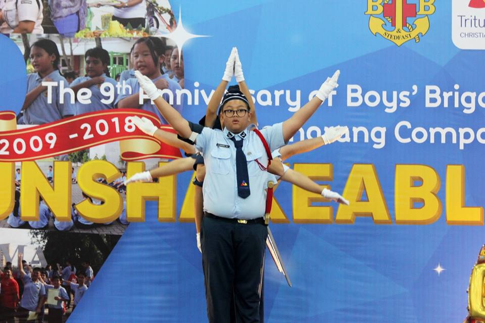 The 9th Anniversary of Boys' Brigade First Semarang Company