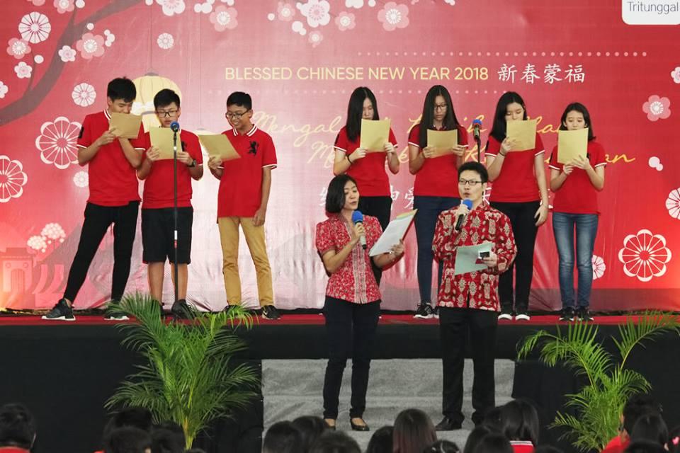 Perayaan Tahun Baru Imlek di Sekolah Kristen Tritunggal