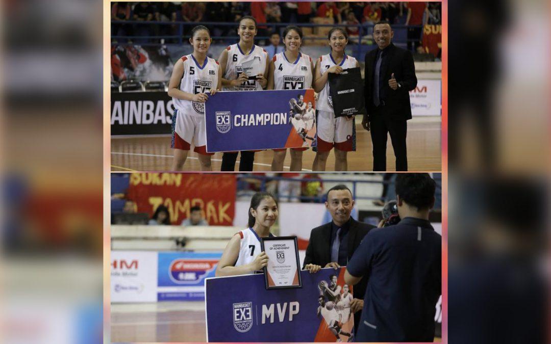 Juara & MVP Honda DBL Semarang 2018