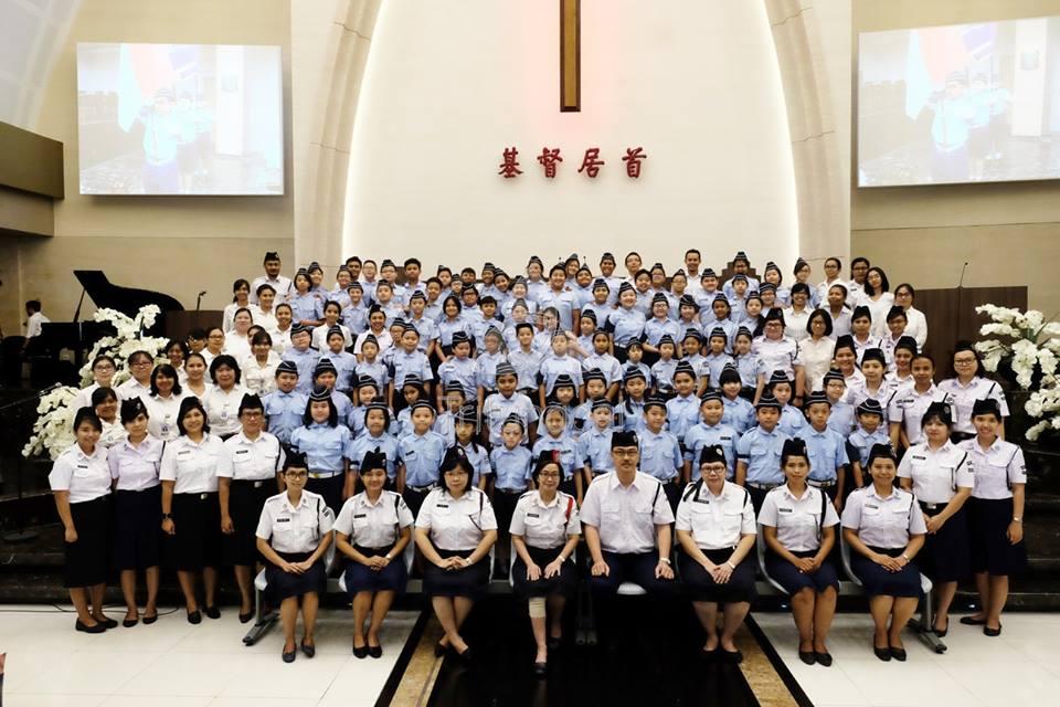 Boys' Brigade Enrollment (Elementary)