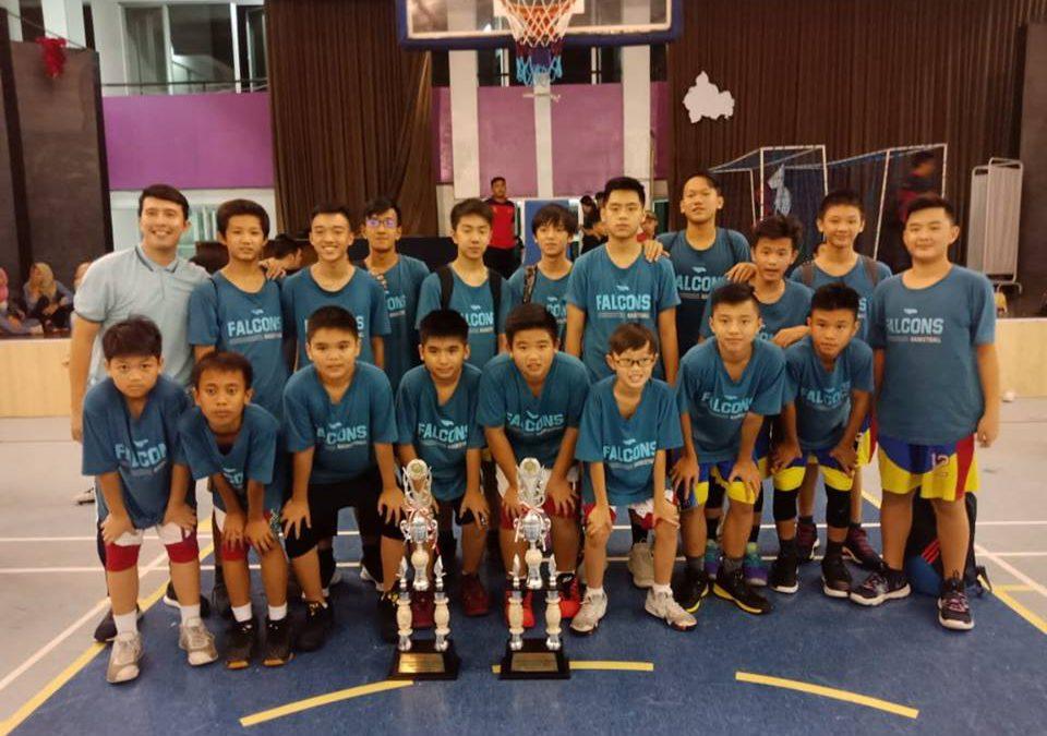 Juara Tim Basket Tritunggal dalam BBS Cup