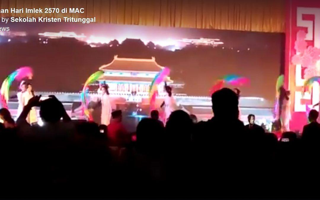 Penampilan dalam Perayaan Hari Imlek Warga Tionghoa Kota Semarang