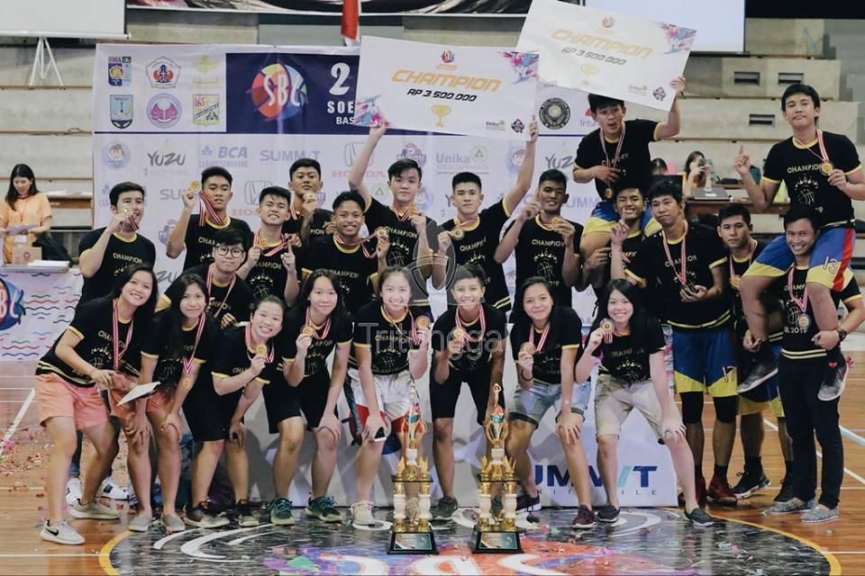 Champions of SBL Unika 2019