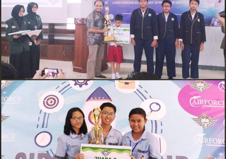 Juara 3 Lomba Karya Ilmiah Tingkat Nasional Airforce Fair 2019