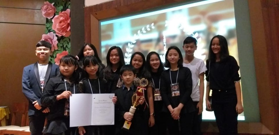 Bronze Award dalam Iwan Music String Ensemble Festival 2019