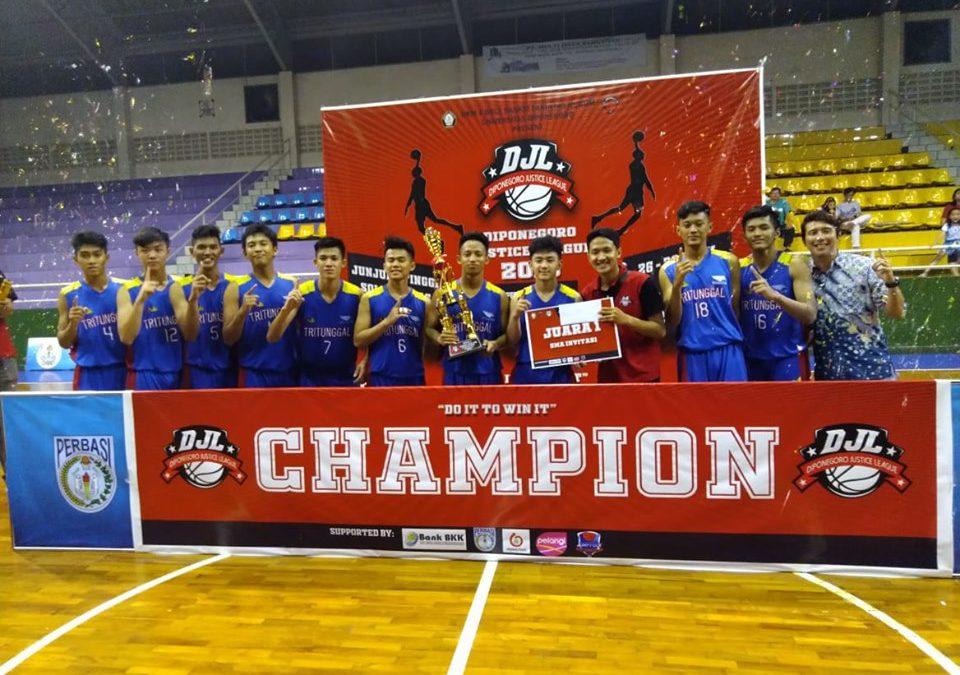 Juara Invitasi Diponegoro Justice League