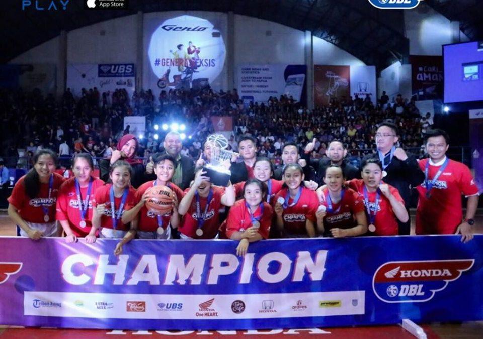 Champions of Honda DBL 2019