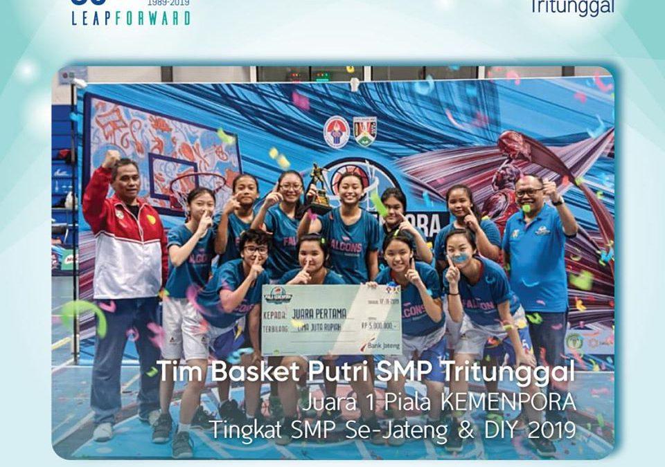 Juara Piala KEMENPORA Tingkat SMP se-Jateng & DIY