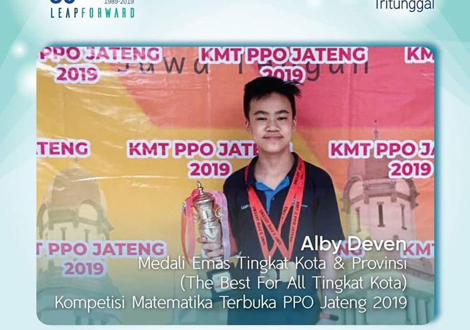 Prestasi dalam Kompetisi Matematika Terbuka 2019 PPO Jateng