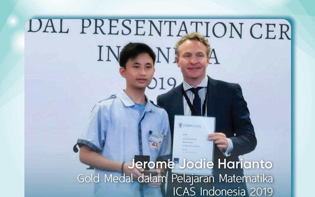 Gold Medal dalam Pelajaran Matematika ICAS Indonesia 2019