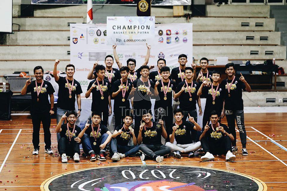 Champion & MVP SBL Unika Semarang 2020