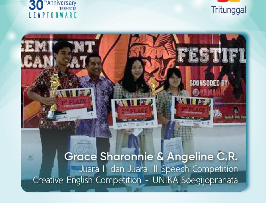 SMA Kristen Tritunggal Kembali Berprestasi dalam English Competition