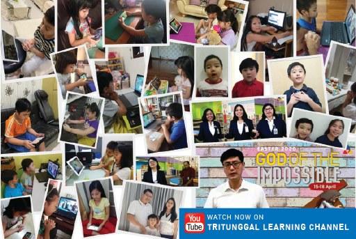 Ibadah Paskah 2020 secara Online Sekolah Kristen Tritunggal