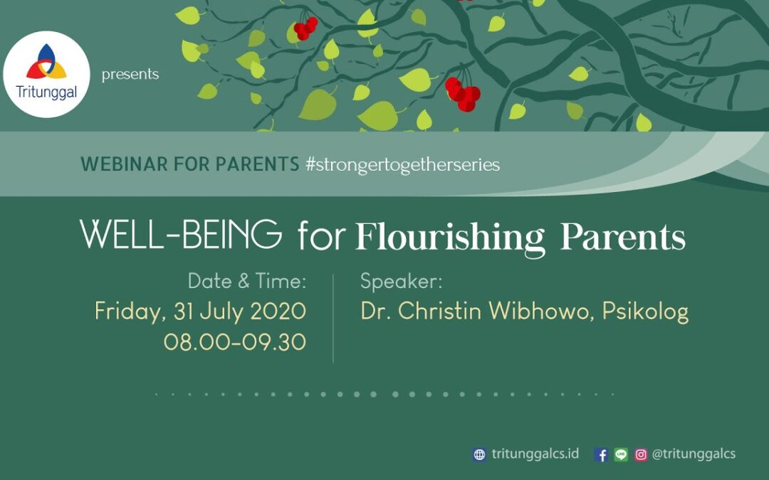"Webinar for Parents ""Well-Being for Flourishing Parents"""