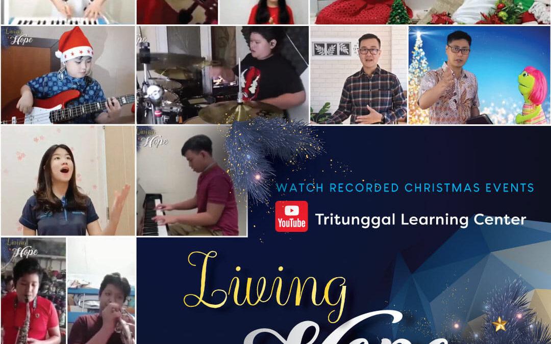 Bersyukur untuk Rangkaian Acara Natal 2020