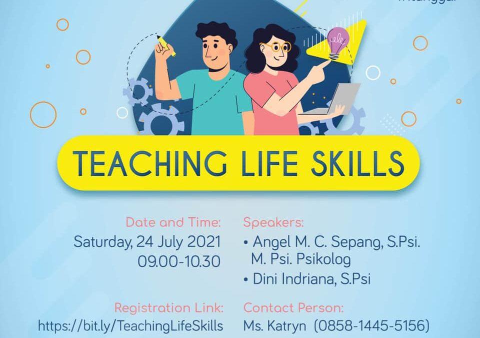 Webinar Parenting: Teaching Life Skills